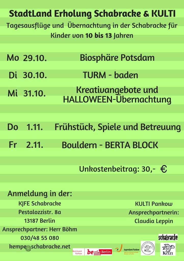 StadtLand Erholung Schabracke & KULTI